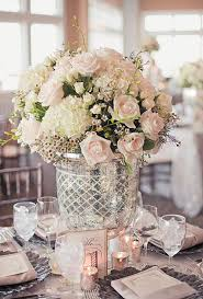 Purple Wedding Centerpieces Romantic Wedding Centerpieces With Glamour Modwedding