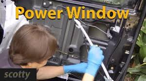 fixing broken power windows on your car youtube
