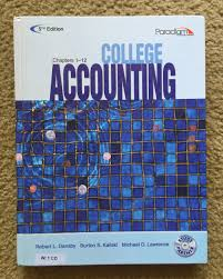 college accounting ch 1 12 w cd 5th dansby dansby