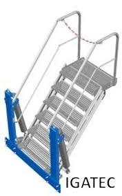 folding stairs loading platforms igatec gmbh