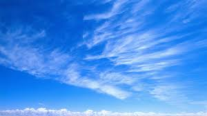 download wallpaper 3840x2160 sky blue white clouds tenderness
