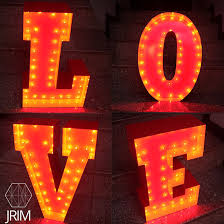 diy marquee letters u2013 just rent it malaysia