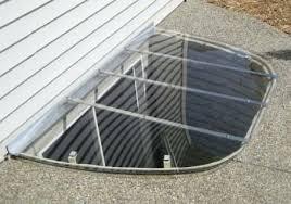 metal basement window well cover masonry and wood window wells