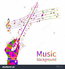 template music notes style ppt backgrounds powerpoint template