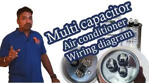 3 terminals capacitor air conditioner wiring diagram hindi youtube