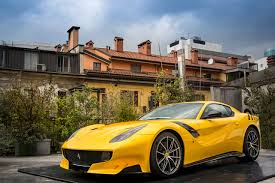 ferrari f12 wallpaper image ferrari 2015 f12 tdf yellow metallic automobile