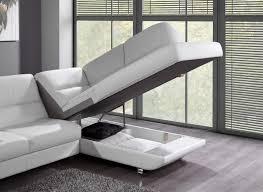 canapé d angle avec rangement photos canapé d angle cuir convertible avec coffre de rangement