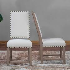 chair nailhead dining chairs benches kitchen room furniture