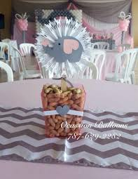 elephant centerpieces for baby shower pink and gray elephant themed centerpiece pink and gray baby