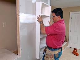 how to add recessed shelves how tos diy