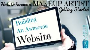 makeup artists websites how to build an awesome mua website careerinmakeup