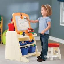 flip and doodle desk step2 kids easel art easel