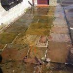 How To Clean Patio Slabs Without Pressure Washer How To Clean Paving Slabs With Bleach U0026 Water Paving Directory
