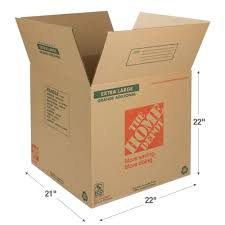 the home depot 22 in l x 21 in w x 22 in d extra large box