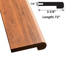 Laminate Floor Stair Nose Jasper Stair Nose Trim Simplefloors San Jose Flooring