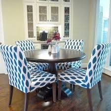 Patterned Dining Chairs Dining Tables Dining Room Sets With Fabric Chairs Fabric Dining