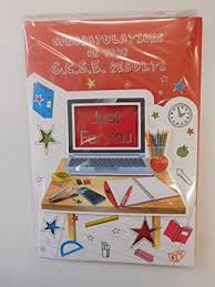 congratulations card for gcse results co uk office