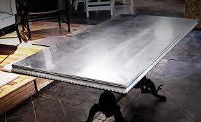 metal top kitchen table best metal top dining room table pictures mywhataburlyweek com