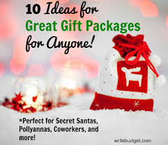 gift packages 10 easy affordable ideas for gift packages the write budget