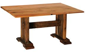 barnwood harvest dining table with traditional oak antique oak or