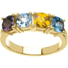 mothers rings 4 stones gold 2 to 4 antique stones s ring
