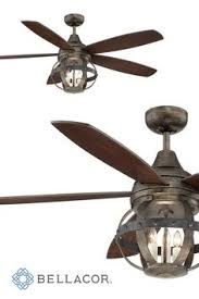 Country Ceiling Fans by Brentford 52 Inch Reversible Five Blade Indoor Outdoor Ceiling Fan