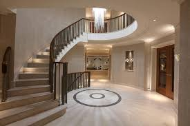 hall and stairs lighting entrance hall staircase contemporary with chandelier clear shade