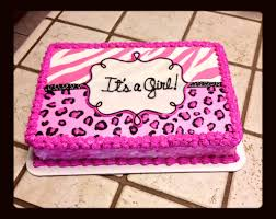 cheetah baby shower zebra and cheetah print baby shower cake the great cakery