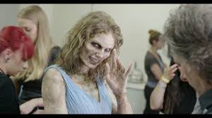 watch taylor swift gets her zombie on in 1 of 3 behind the scenes