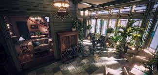 Halliwell Manor Floor Plan by Halliwell Manor Ue4 Charmed House Next Gen Gaming Project