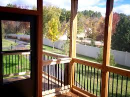 screened porch ideas for a small backyard st louis decks