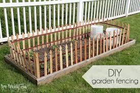 Diy Garden Fence Ideas Diy Garden Fencing