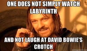 David Bowie Labyrinth Meme - labyrinth gif