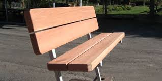six foot 3 u201d redwood bench with back