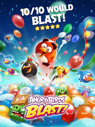 angry birds blast on the app store