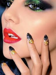 how to remove glitter nail polish allure