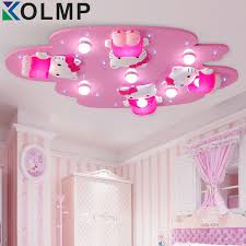 hello kitty lovely girls bedroom ceiling lights pink color cute