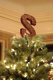 monogram tree topper tree topper style what s yours creative home