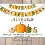 thanksgiving potluck invite best 25 potluck invitation ideas on