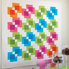 go rectangle reflection quilt pattern accuquilt