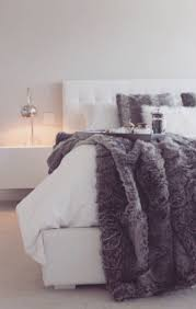 Gucci Bed Comforter The Gucci Guide To Holiday Decorating Cozy Blanket And Grey Fur