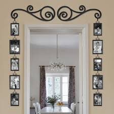 wall decor modern iron decor iron decor 111 garden wall decor frame and scroll 12 piece set tv frames mounted tv and picture