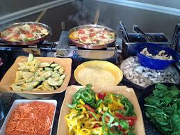 delicious live action pasta station wedding food wedding foods