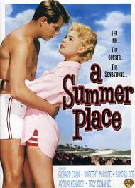 amazon com a summer place richard egan dorothy mcguire sandra