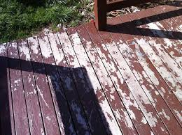 cabot solid color deck stain peeling poor performance review