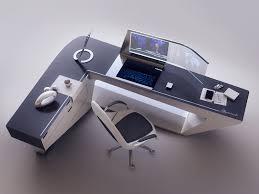 Modern Desk by Artstation Modern Desk Design Encho Enchev Sci Fi 2