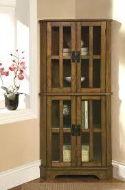 curved corner curio cabinet cherry corner curio cabinet s auberge curved victorian wood