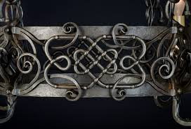 Forged Chandeliers Interior Lighting Celtic Knots Chandeliers And Blacksmithing