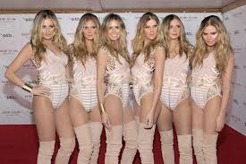 where is party city halloween costumes 2010 at supermodel heidi klum clones herself for halloween houston chronicle