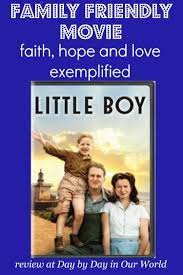 little boy dvd a family friendly movie day by day in our world